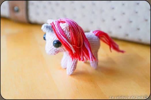 Pink unicorn Amigurumi