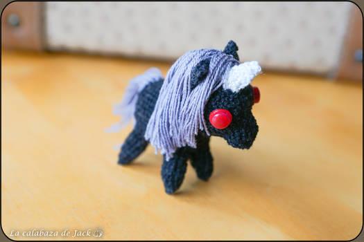 Dark unicorn Amigurumi