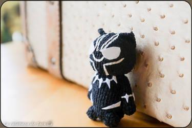 Black Panther Amigurumi