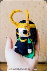 Loki Amigurumi (Marvel) by cristell15