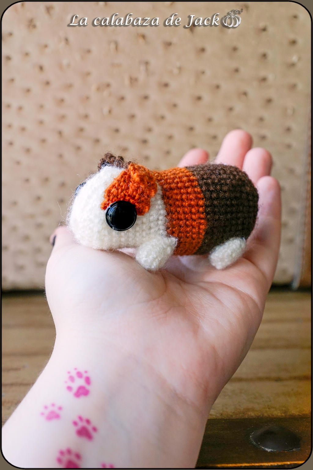 How To Crochet a Cute Amigurumi Guinea Pig - DIY Crafts Tutorial ... | 1536x1024