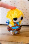 Link Amigurumi (Zelda: Breath of the wild)