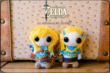 Zelda: Breath of the wild Amigurumis by cristell15