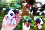 Custom Dog Amigurumi by cristell15