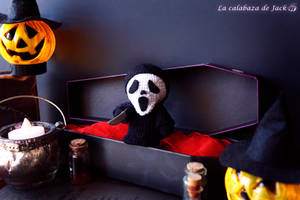 Scream Amigurumi by cristell15