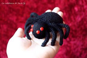 Spider Amigurumi by cristell15