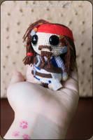 Jack Sparrow Amigurumi by cristell15