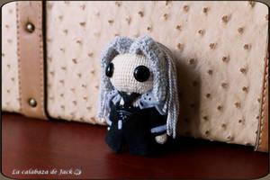 Sephiroth Amigurumi by cristell15