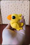 Chocobo Amigurumi by cristell15