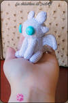 Light fury Amigurumi - How to train your dragon by cristell15