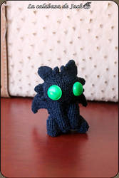 Toothless Amigurumi - How to train your dragon by cristell15