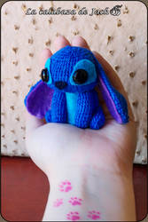 Stitch Amigurumi by cristell15