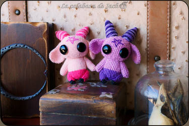 Demons Amigurumis by cristell15