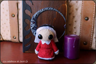 Chilling Adventures of Sabrina Amigurumi by cristell15