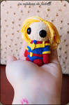 Captain Marvel Amigurumi by cristell15