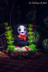 No Face Amigurumi - Spirited Away by cristell15