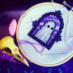 Ghost Cross Stitch