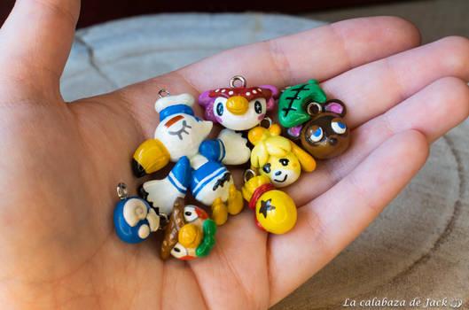 Animal Crossing Charms