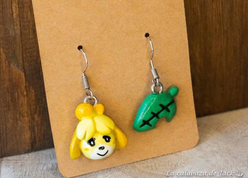 Canela Earrings - Animal Crossing