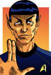 Spock by luigiquarta