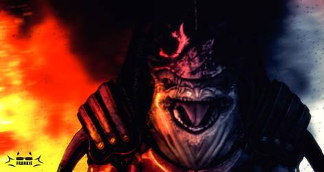 Mass Effect: cinematic Urdnot Wrex by skullfrankie