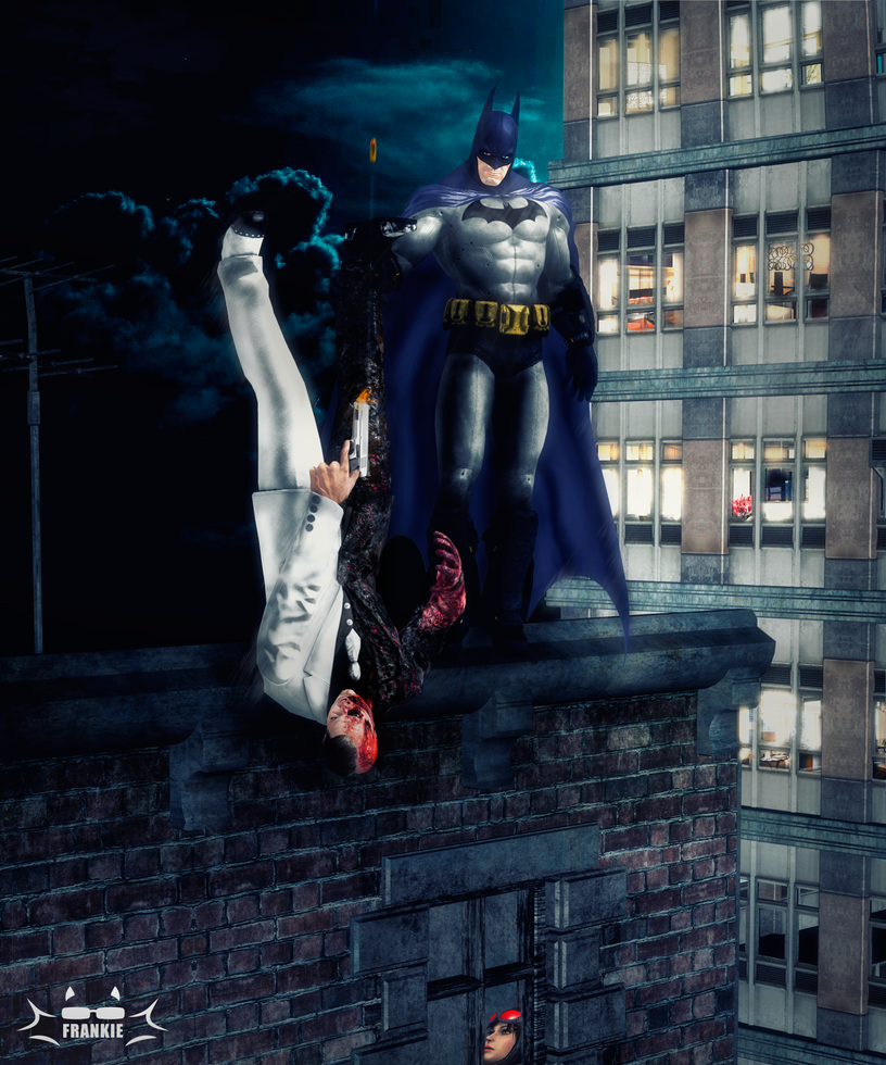Batman's method by skullfrankie