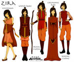 OC - Zira character sheet