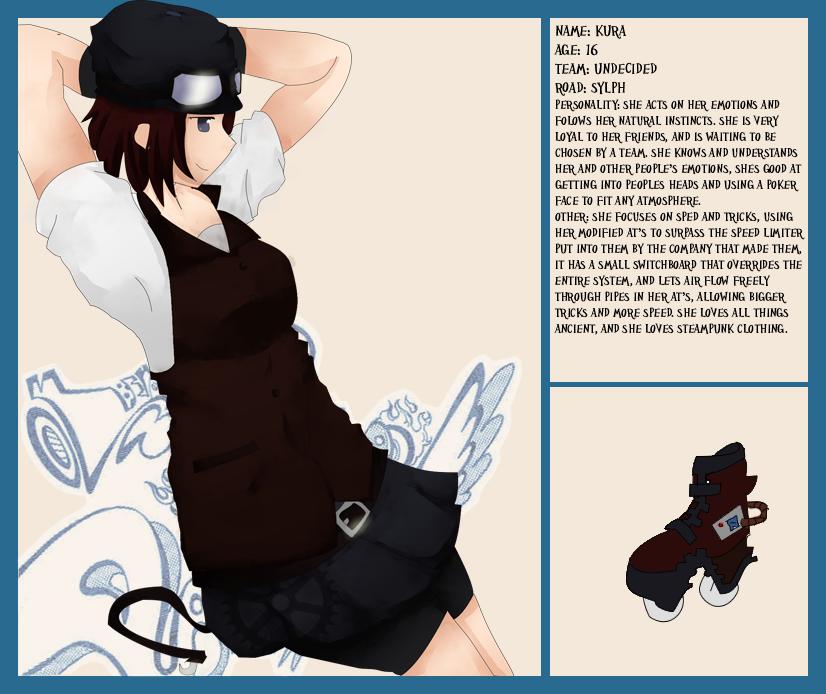Air gear Character Sheet  Kura by Kumiko-Aki