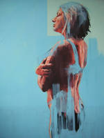 Standing blue. by ScottBridgwood