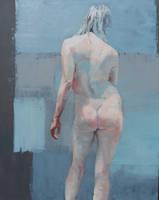 Standing nude 6 by ScottBridgwood