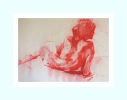 Reclining red. by ScottBridgwood