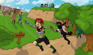 Yogscast Zoey and Rythian - BLACKROCK ADVENTURE