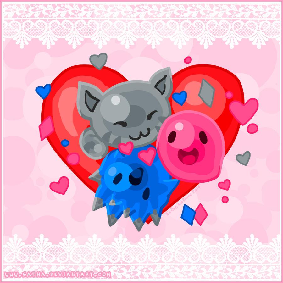 Slime Rancher Valentines