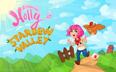 Commander Holly In Stardew Valley