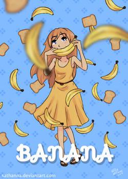 Banana Girl Poster