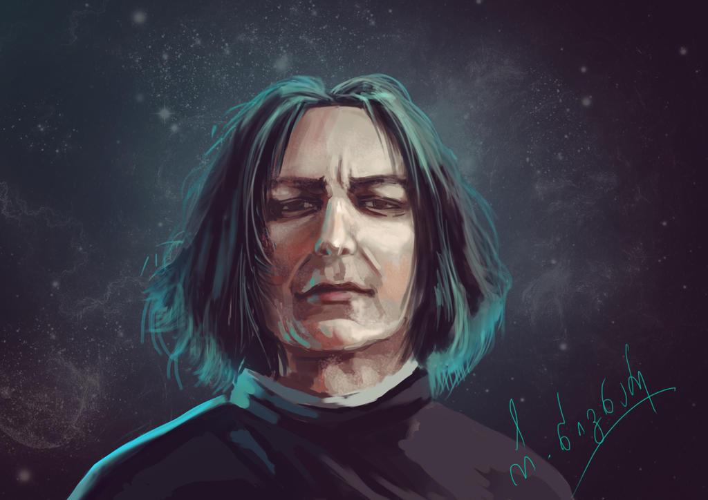 Severus Snape by ShizuneRu