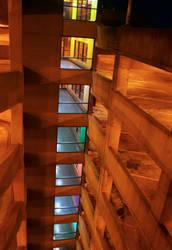 Parking Garage Floors by tunafizzle