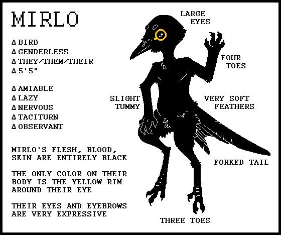 Mirlo Ref by Cinnybird