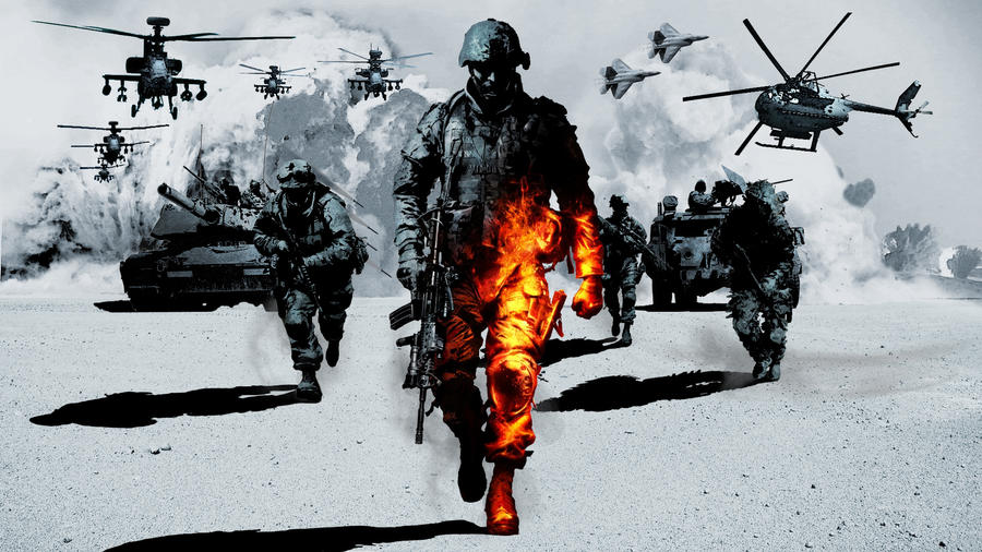 battlefield 2 bad company картинки