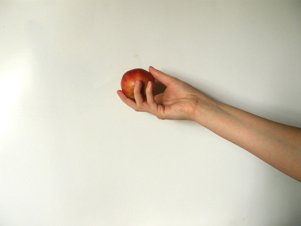 Hand with Poison Apple Stock7 by NoxieStock