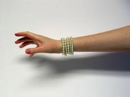 Hand with Pearls Stock6 by NoxieStock