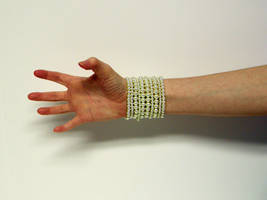 Hand with Pearls Stock8 by NoxieStock