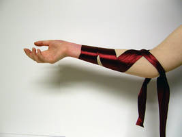 Ribbon Arm Stock1 by NoxieStock