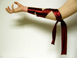 Ribbon Arm Stock8 by NoxieStock