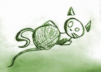 Cat XXIII by catmade