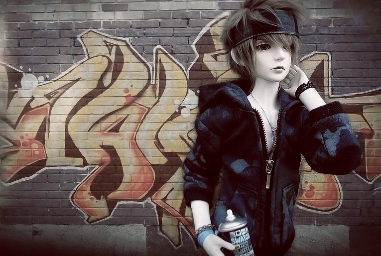 Graffiti. by Yue-Licious