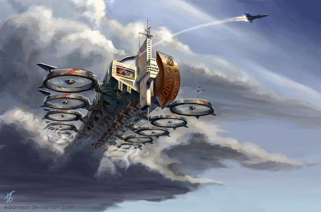 FF144-IW Airborne Carrier by Edarneor