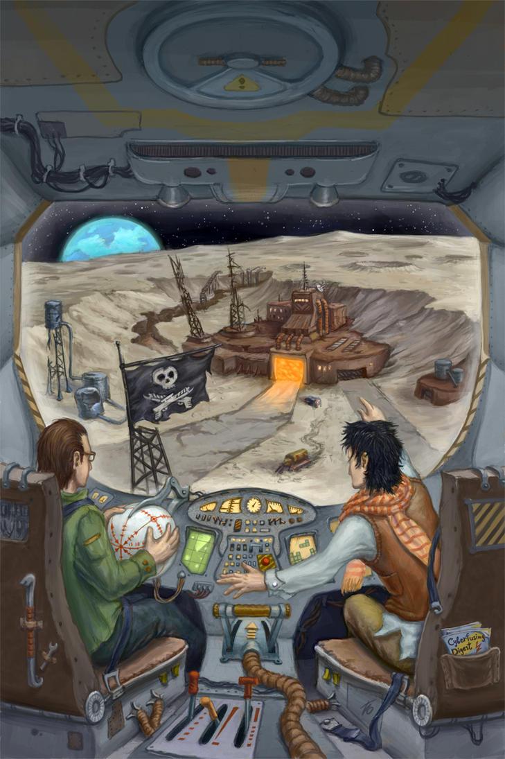 Rex and Loon - Galaverse Gallivanters by Edarneor