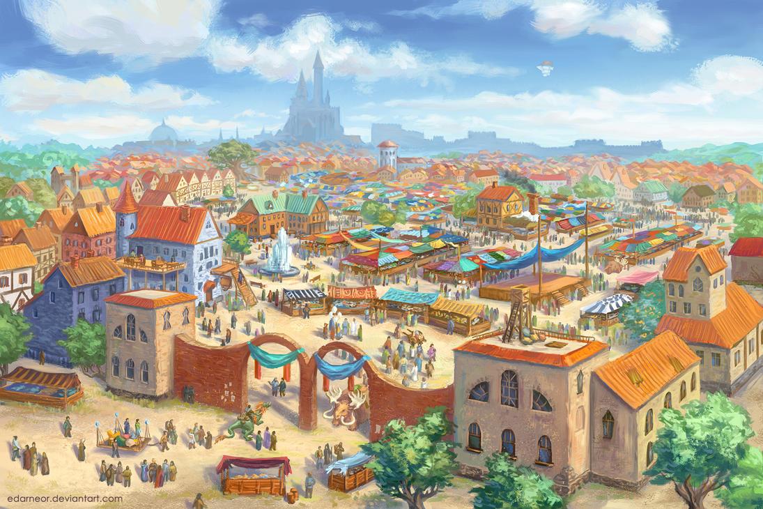 City market by Edarneor
