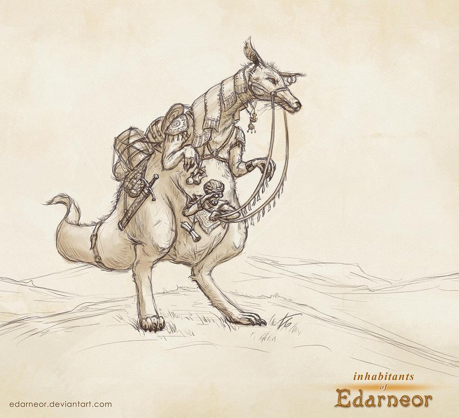Kotiar rider by Edarneor